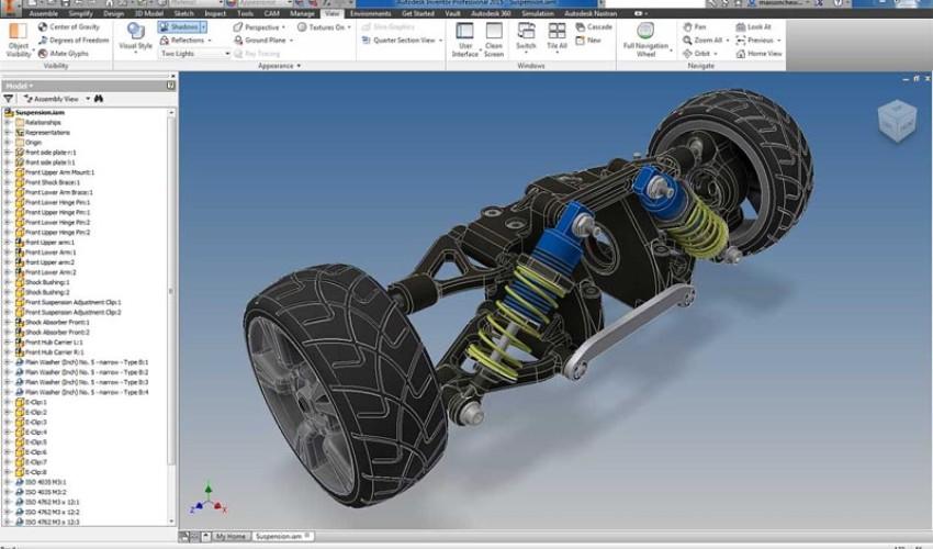 SolidWorks & Autodesk Inventor